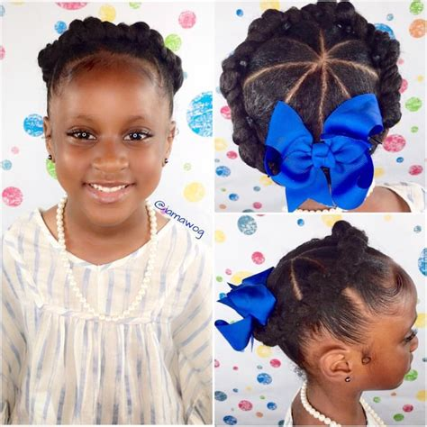 Hairstyles For Black Children by Black Hairstyles For With Hair Www Pixshark