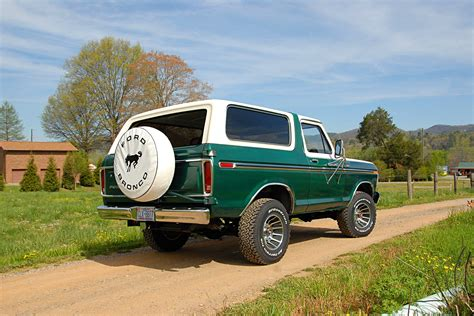 ford bronco  receive dana solid axles front  rear