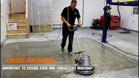 How To Diamond Grind A Concrete Floor   YouTube
