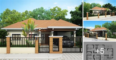 space saving house plans house worth p400k material cost house design bungalow type