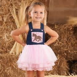 Mud pie toddler cowgirl overall dress out of stock