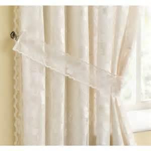 lined lace curtains casa di verdi 174 fiji natural cream lace lined curtains