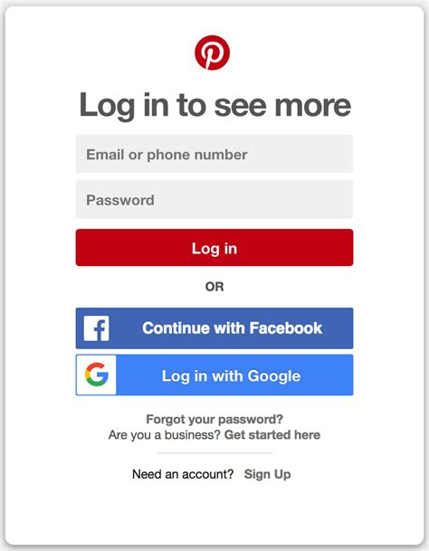 pinterest login login accountwiki net