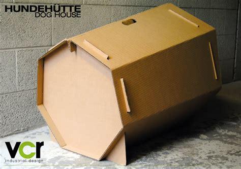 dog house cardboard cardboard dog house en themag
