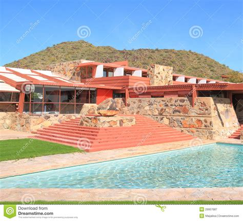frank lloyd wright taliesin l usa arizona frank lloyd wright taliesin west editorial