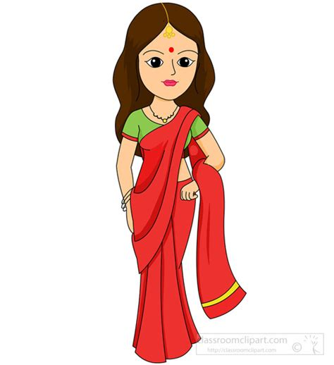 indian clipart ancient clipart indian person pencil and in color