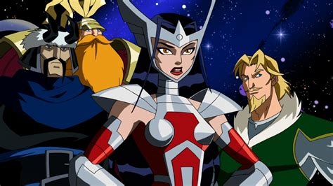 Enya Marvel 26 H marvel animation age the earth s mightiest heroes
