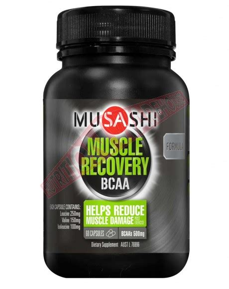 muscle recovery bcaa  musashi stop muscle breakdown big brands warehouse prices