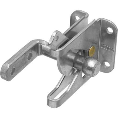 swing gate latch national hardware zinc plated automatic gate latch for out