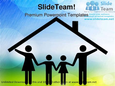 family powerpoint templates parents and children family powerpoint templates themes
