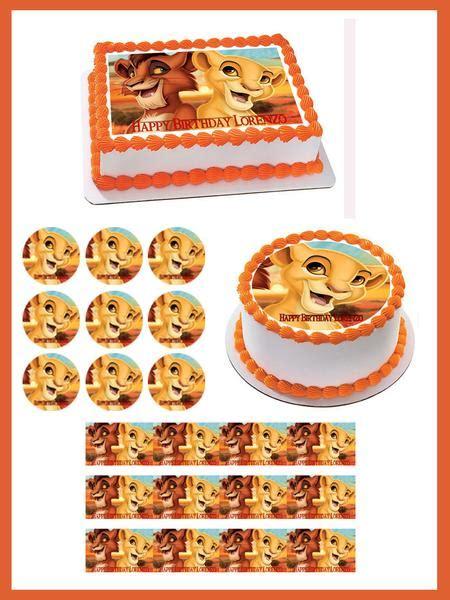 Kiara Decor by King Kiara Edible Birthday Cake Or Cupcake Topper