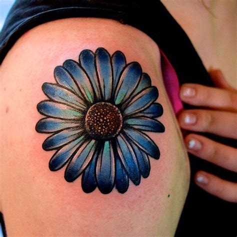 daisy shoulder tattoo 40 beautiful tattoos on shoulder