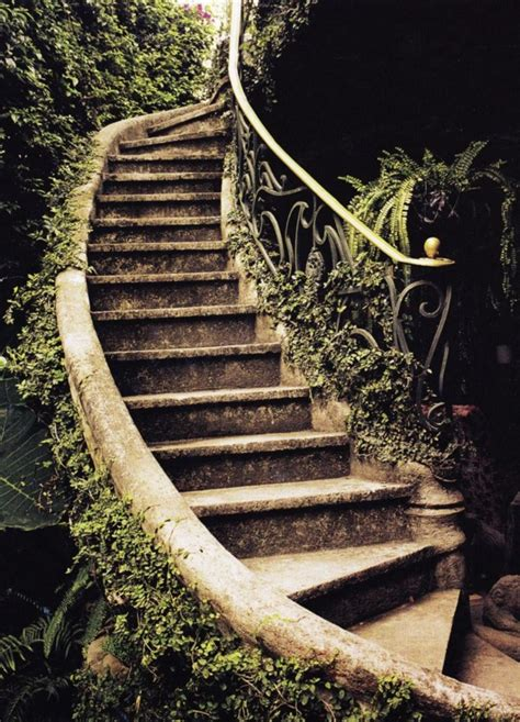 garden banister 40 cool garden stair ideas for inspiration bored art