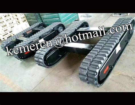 custom rubber st 1 60 ton steel track undercarriage mnufacturer st series