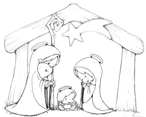 imagenes de navidad para colorear nacimientos compartiendo por amor dibujos nacimiento de jes 250 s