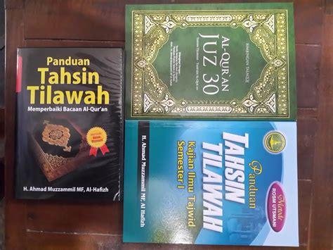 Bimbingan Tahsin Dan Tajwid Al Quran Jilid 3 paket buku dan vcd panduan tahsin tilawah toko muslim title