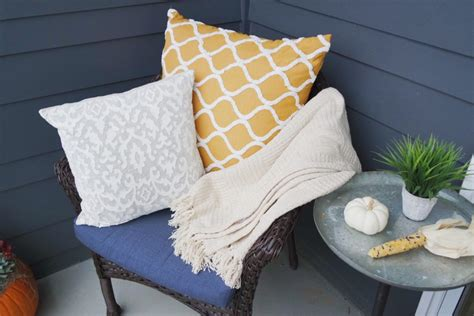 fall patio rev with gordmans thrifty pineapple