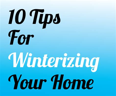 10 tips for winterizing your home the diy