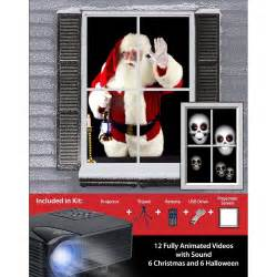 Virtual Home Decorating mr christmas digital decoration window projector kit for