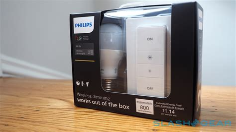 philips wifi light philips hue wireless dimming kit review slashgear