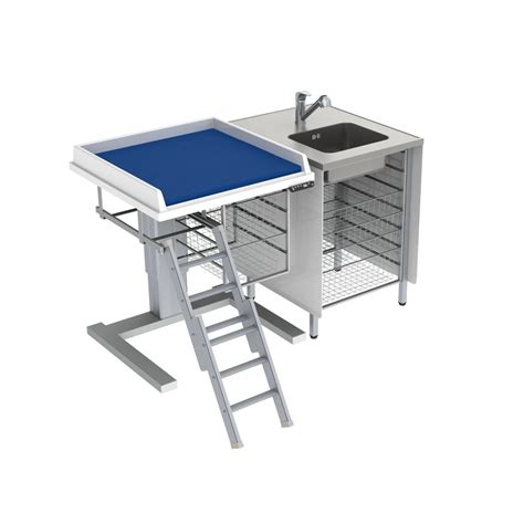 Height Adjustable Baby Changing Table 333 080 Height Height Changing Table