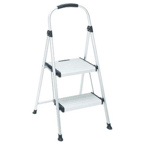 Cosco 3 Step All Aluminum Step Stool by Cosco 2 Step All Aluminum Step Stool Target