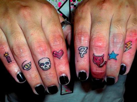 facts about finger tattoos designs and tattoos with meanings
