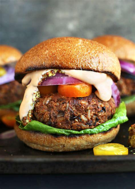 protein veggie burger 15 watering veggie burger recipes hello glow