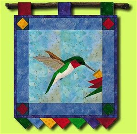 hummingbird paper piece block pattern google search