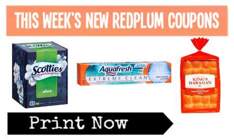 printable grocery coupons redplum new redplum coupons aquafresh scotties more