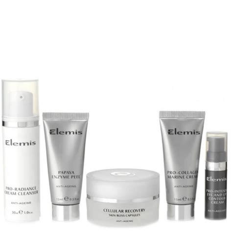 Elemis Detox Products by Elemis Anti Ageing Detox Regime 5 Products Free Delivery