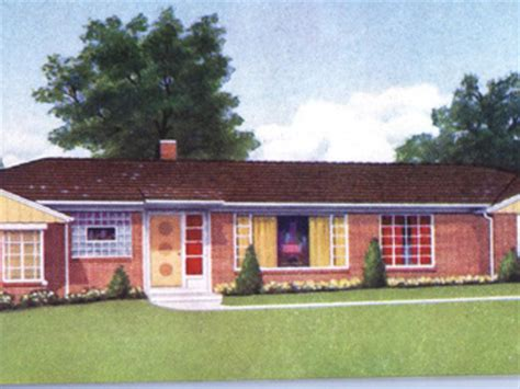 1950 style homes 1950s ranch style homes house design plans