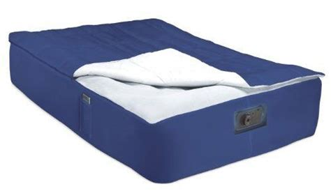 aztec airbed air mattress bed sleeping bag sheet set cover navy by aztec 29 99