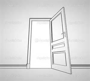Door drawing drawing door stock image