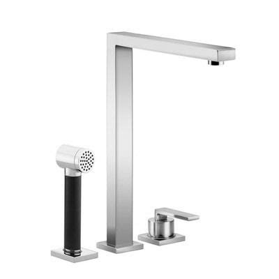 dornbracht kitchen faucets dornbracht lot kitchen faucet with handspray set 32 800 680 27 714 970 kitchen faucet from