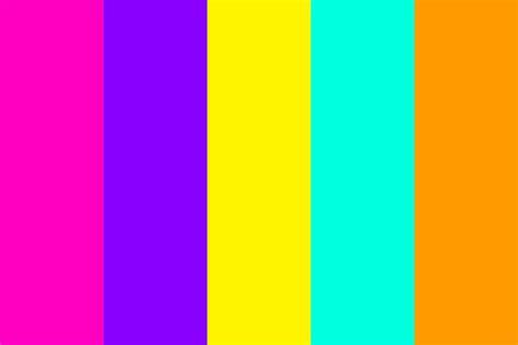 secret color secret jouju color palette