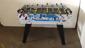 gamepower sports soccer table children s gamepower multi table auction 0086