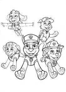 coloriage paw patrol dessin 224 imprimer sur coloriages