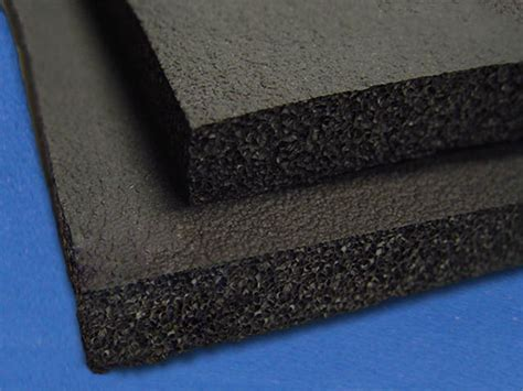 thick sheets black gym rubber foam by mail