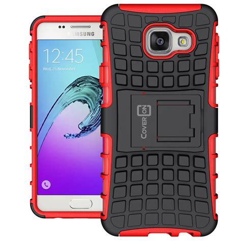 Samsung Galaxy A5 2016 Rugged Armor Kickstand Softcase Cover A510 for samsung galaxy a3 2016 protective kickstand dual layer phone cover ebay