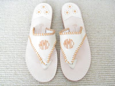 stephen bonanno sandals custom monogram palm sandals for collection by