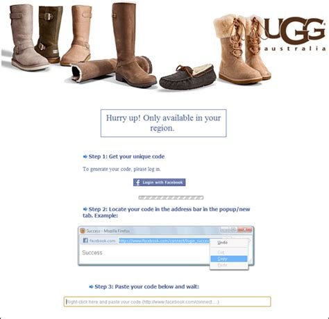 Facebook Giveaway Hoax - ugg boot giveaway facebook hoax santa barbara institute for consciousness studies