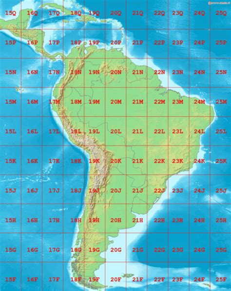 america utm map south america animal and the partner
