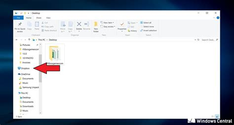 dropbox pc how to sync your dropbox folders to windows 10 windows
