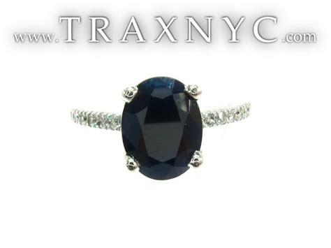 Black Sapphire Big Size black sapphire ring womens ring