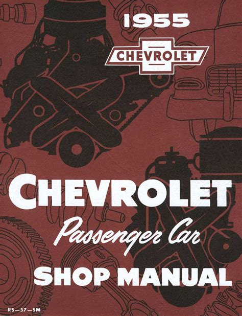 chevrolet shop manual 1955 all makes all models parts tf250010 1955