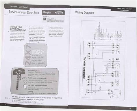 28 wiring diagram of whirlpool semi automatic washing
