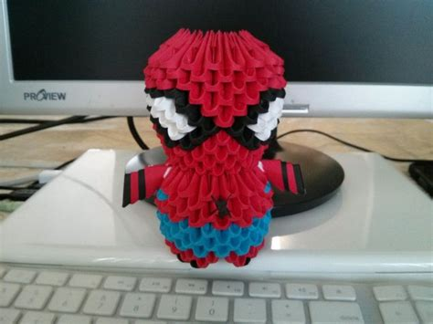 3d origami spider man tutorial 34 best images about 3d origami on pinterest origami