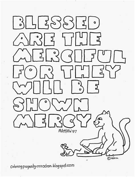 Matthew 7 Coloring Pages by Coloring Pages For By Mr Adron Blessed Are The