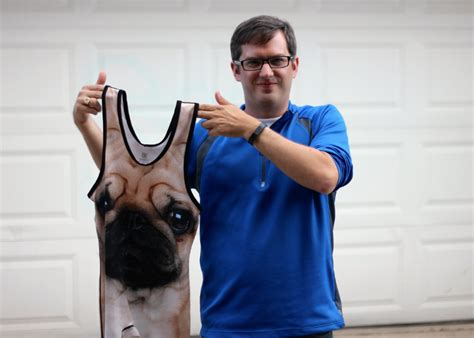 pug singlet we re so to the pug run fundraising goal a few days left frugal